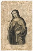 IMAGE PIEUSE HOLY CARD SANTINI HEILIG PRENTJE Brodée Dentelle Canivet Bouasse Lebel N° 791 : Signet De Sainte Thérèse - Imágenes Religiosas
