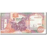 Somalie, 1000 Shilin = 1000 Shillings, 1990, 1996, KM:37b, NEUF - Somalie