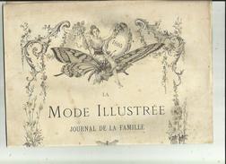 Journal De Famille-Mode-Illustrée(Table Des Matières)  36em Année Librairie FIRMIN -DIDOT & Cie A Paris Et  Mesnil -Eure - Haute Couture