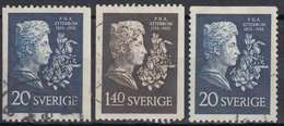 SUECIA 1955 Nº 404/05 + 404a USADO