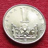 Czech Republic 1 Koruna 1993 KM# 7 - Tchéquie