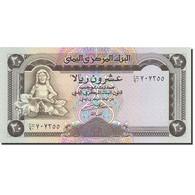 Yemen Arab Republic, 20 Rials, 1990-1997, Undated (1990), KM:26b, NEUF - Yémen