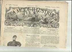 Journal De Famille-Mode-Illustrée(Table Des Matières)  36em Année Librairie FIRMIN -DIDOT & Cie A Paris Et  Mesnil -Eure - Designermode