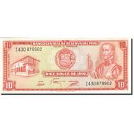 Pérou, 10 Soles De Oro, 1968, 1968-02-23, KM:93a, SPL - Pérou