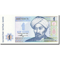 Kazakhstan, 1 Tenge, 1993-1998, KM:7a, 1993, NEUF - Kazakhstan