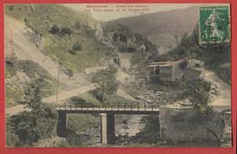 81 MAZAMET : Route Des Usines Les Trois Lunes Et Le Peigne D'Or  , Recto Verso . - Villefranche D'Albigeois