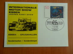 Postcards INTERNATIONALE MOTOR SHOW ESSEN, 1.12.1980. - Essen