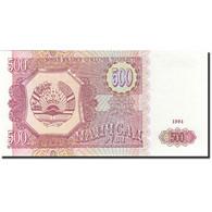 Tajikistan, 500 Rubles, 1994, 1994, KM:8a, NEUF - Tadjikistan