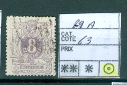 29 A Obl - 1869-1883 Leopold II