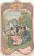 """Carte Parfumée """" Garden Party - Bouquet - GELLE Frères"""" + Pâte Dentifrice Glycérine ... - Cartes"""
