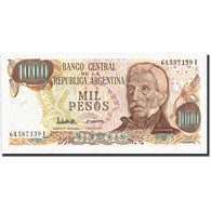 Argentine, 1000 Pesos, Undated (1976-83), KM:304b, Undated (1976), SPL - Argentine
