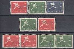 SUECIA 1958 Nº 429/31 + 429a/30a + 429b/30b USADO
