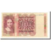 Norvège, 100 Kroner, 1982, KM:41c, TTB - Norvegia