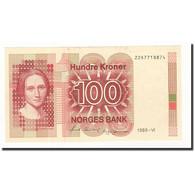 Norvège, 100 Kroner, 1989, KM:43d, SPL - Norvegia