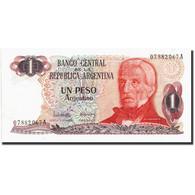 Argentine, 1 Peso Argentino, Undated (1983-84), KM:311a, Undated (1983-1984) - Argentine