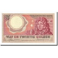 Pays-Bas, 25 Gulden, KM:87, 1955-04-10, SUP - [2] 1815-… : Kingdom Of The Netherlands