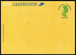 B-001D- Liberté De Gandon, Nouveau Type Sans Valeur, Carteposte, N° 2484A-CP. - Postal Stamped Stationery