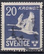 SUECIA 1942/1953 Nº AEREO 7 USADO - Used Stamps
