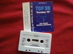 JOE DASSIN GERARD LENORMAN K7 AUDIO VERIFIEZ LA PHOTO...ET LIRE IMPORTANT...  REGARDEZ LES AUTRES (PLUSIEURS) - Audio Tapes