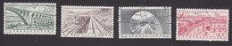 Czechoslovakia, Scott #727-730, Used, Public Works, Issued 1955