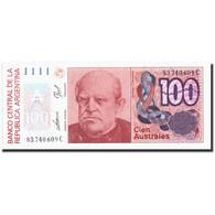 Argentine, 100 Australes, Undated (1985-90), KM:327a, Undated (1985-90), NEUF - Argentine