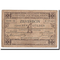 Pays-Bas, 1 Gulden, KM:8, 1916-05-01, TB - [2] 1815-… : Koninkrijk Der Verenigde Nederlanden