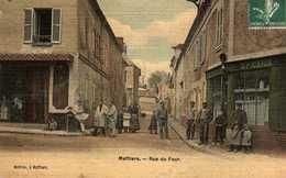 Maffliers: Rue Du Four. - Autres Communes