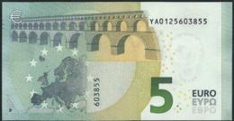 € 5 GREECE  Y001 A3  DRAGHI  UNC - 5 Euro