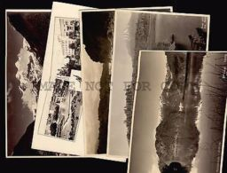 CHILE 11 OLD  REAL PHOTO RPPC Vintage Ca1920 Postcard PUYEHUE OSORNO HOTEL ETC - Postcards