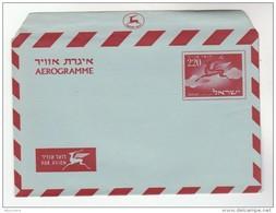 1955 ISRAEL 220 AEROGRAMME  Postal Stationery Cover Stamps Deer - Israel