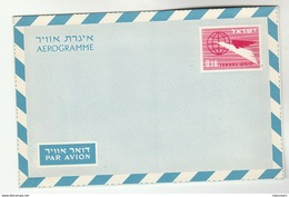 1960 ISRAEL 0.18 AEROGRAMME Postal Stationery Cover Stamps - Israel