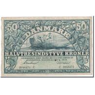 Danemark, 50 Kroner, 1939, KM:32b, TTB - Danemark