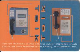 NAMIBIA(chip) - Telecom Namibia Cardphone, Talk Talk, Used - Namibia
