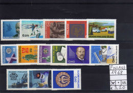 1968 FINLAND FINLANDIA COMPLETE YEAR MINT MNH**
