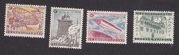 Czechoslovakia, Scott #836-838, 844, Used, IGY, Castle, Issued 1957-58
