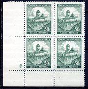 XP3040 - BOEMIA MORAVIA 1939 , Yv N. 26 Quartina  ***  KARLUV - Boemia E Moravia