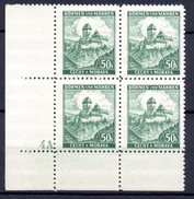 XP3041 - BOEMIA MORAVIA 1939 , Yv N. 26 Quartina  ***  KARLUV - Boemia E Moravia