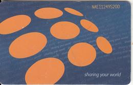 NAMIBIA - Sharing Your World(N$50), Used - Namibia