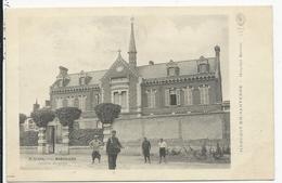 Hangest En Santerre  Hopital Brulin  Avec Facteur - France