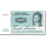 Danemark, 50 Kroner, 1985, KM:50g, NEUF - Danemark