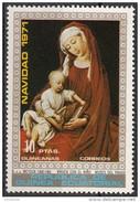 7227 Guinea Equatoriale 1971 Natale Duràn Madonna Quadro Dipinto Da G. Van Der WEYDEN Museo Del Prado  Nuovo MNH