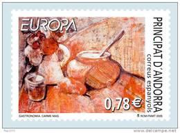 ANDORRA ESPAÑOLA 2005 - EUROPA CEPT