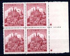 XP3050 - BOEMIA MORAVIA 1940, KUTNA HORA 1,50 K  Quartina Nuova *** - Boemia E Moravia