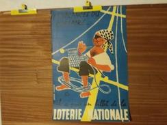 AFFICHE LOTERIE NATIONALE. LEFOR-OPENO. CORSAIRE-PIRATE-MARIN. AOUT 1955. LES VACANCES DU CORSAIRE ... - Affiches