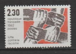 """FRANCE ,N°2204 """" LUTTE CONTRE LE RACISME"""" - Nuevos"""