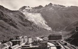 Switzerland Gletsch Galenstock Und Rhonegletscher 1958 Photo - VS Valais