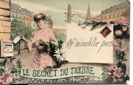 LE SECRET DU TIMBRE  Ne M'oublie Pas - Postzegels (afbeeldingen)