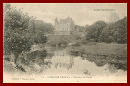 Theme Chateau De Loire *guéméné Penfao * Chateau De Juzet    ( Scan Recto Et Verso) - Guémené-Penfao