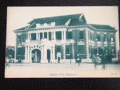 Singapore 5 Cricket Club Cca 1910 No 8 - Singapore