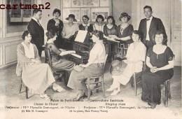 FONTAINEBLEAU CONSERVATOIRE AMERICAIN CLASSE DE PIANO DEMOUGEOT PIANISTE CHEF D'ORCHESTRE MUSICIEN MUSIC CLASSIQUE OPERA - Fontainebleau